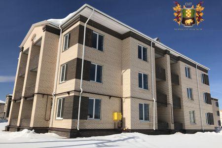 Введено в эксплуатацию два малоэтажных жилых дома